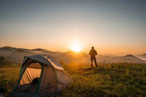 lever soleil tente