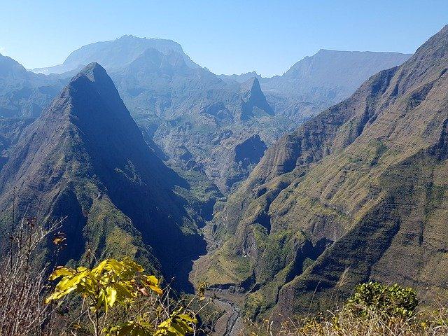 Vue splendide lors de mon dernier voyage à la Réunion en déc.
