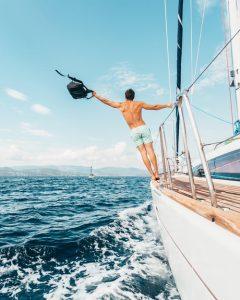 partir en bateau