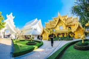 visiter un temple en thailande