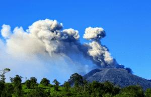 Les volcans au costa rica