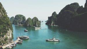 baie baie d-halong bateaux-eau