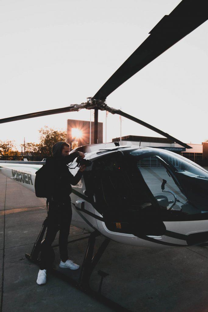 Quel est l'avantage de survoler Las Vegas en hélicoptère ?